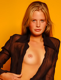 Seductive blond Andrea C knows what she wants and does everything to get it right now.