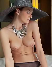 Vanda B takes her lingerie before the camera and then fingers her deep shasved hungry muff.