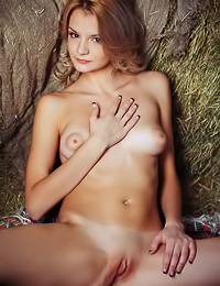 Edita Recna: Edita Recna takes all of her clothes before the camera and teases us with her perky little jugs.