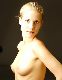 Beautiful blonde hottie Iveta B shows us her foxy, attractive body and nice round piece of ass.