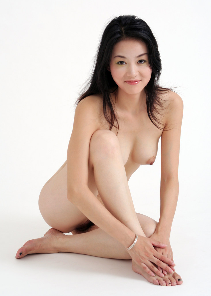 Naked Asian pussy