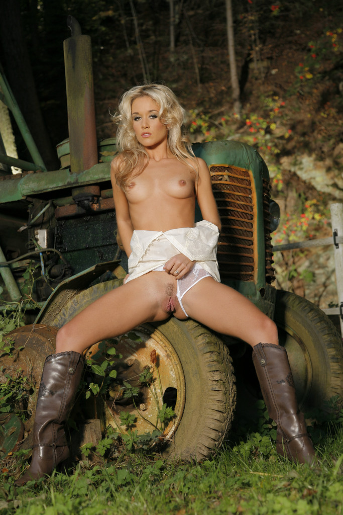 Remarkable, Big tractors and naked girls think